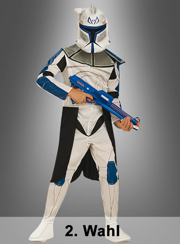 Clone Trooper Captain Rex 2. Wahl Kinderkostüm