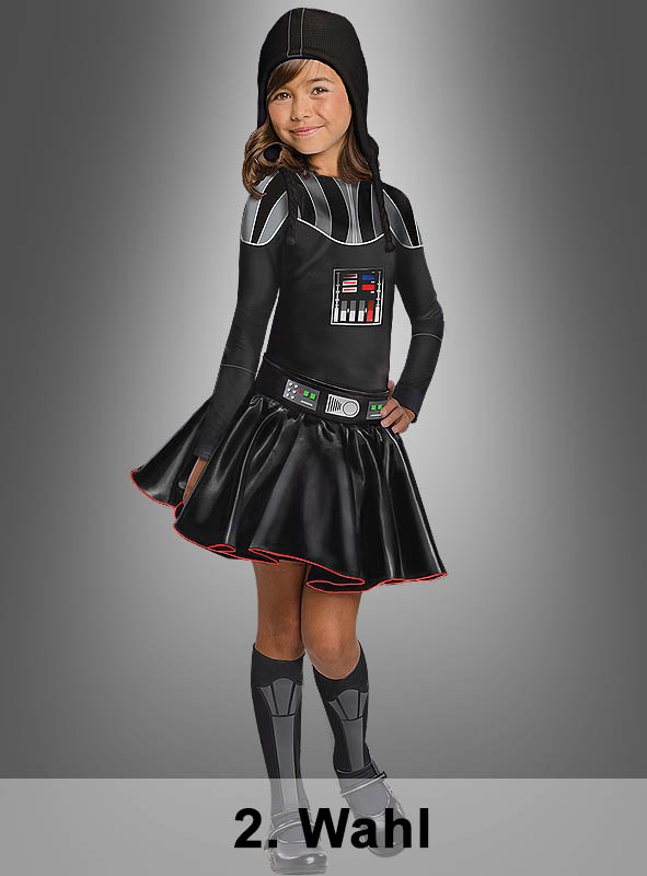 2. Rate Darth Vader Costume for Girls