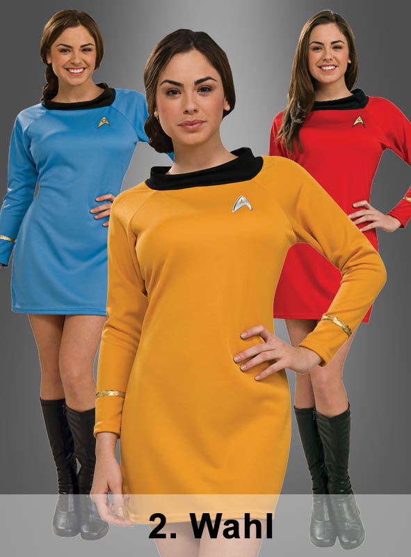2. Wahl Kleid STAR TREK Classic Uniform