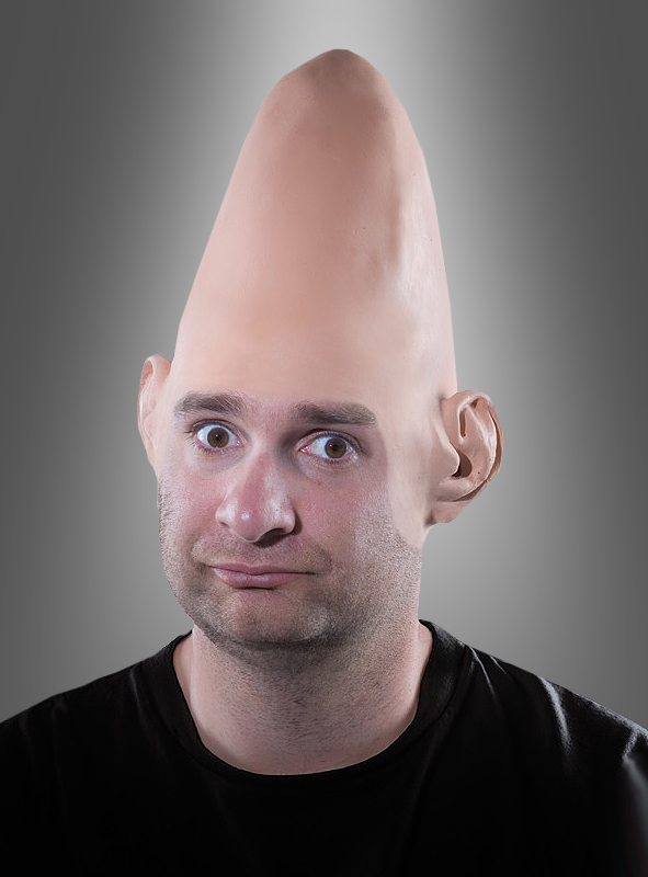 Alien Glatzen Conehead Perücke