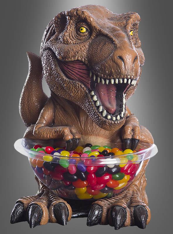 trex süßigkeiten halter jurassic park dinosaurier