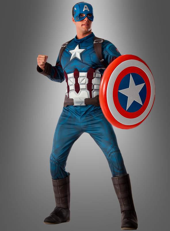 captain america kost m f r herren kost mpalast. Black Bedroom Furniture Sets. Home Design Ideas