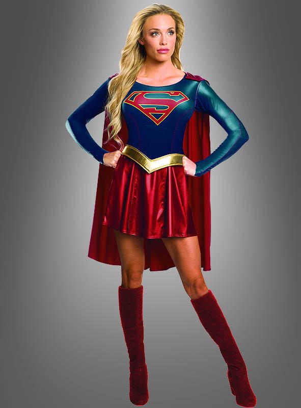 supergirl kost m f r damen zur tv serie. Black Bedroom Furniture Sets. Home Design Ideas