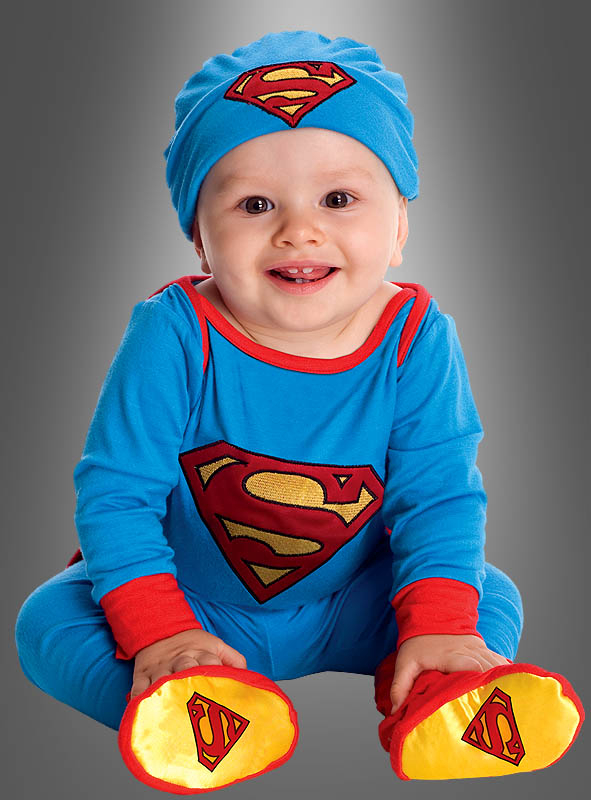 superman babykost m spielanzug bei kost mpalast. Black Bedroom Furniture Sets. Home Design Ideas