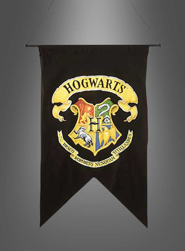 harry potter wappen hogwarts wanddeko. Black Bedroom Furniture Sets. Home Design Ideas