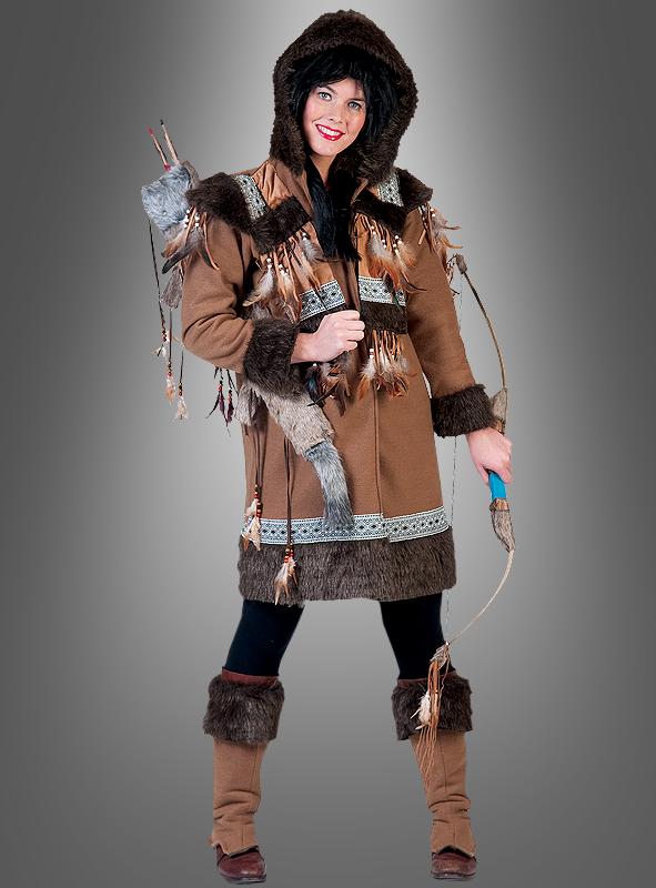 eskimo inuit damenkost m l nderkost m fasching karneval. Black Bedroom Furniture Sets. Home Design Ideas