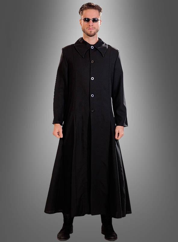Gothic mantel online bei kost for Schwarzer langer mantel