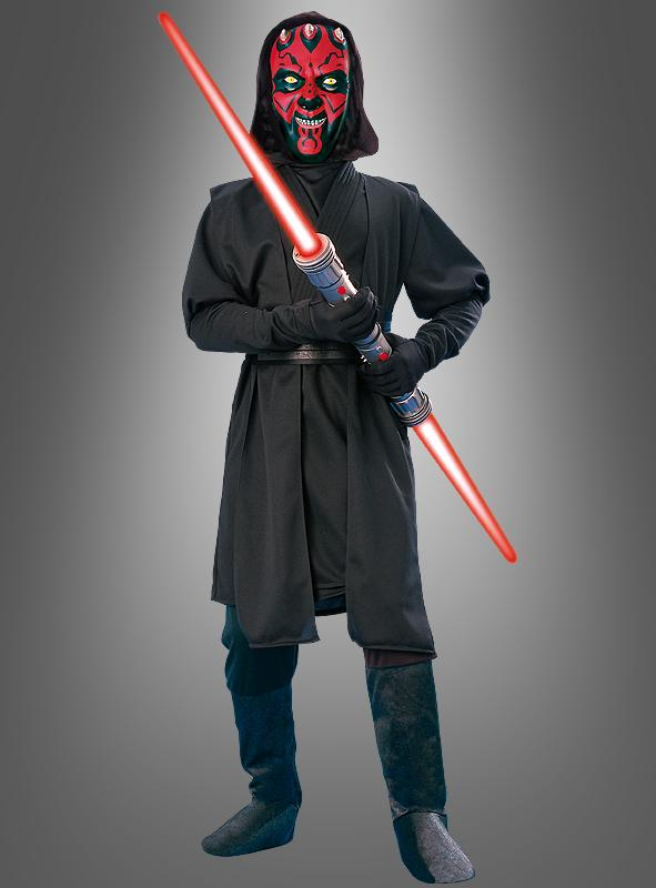 darth maul kinderkost m deluxe aus star wars. Black Bedroom Furniture Sets. Home Design Ideas