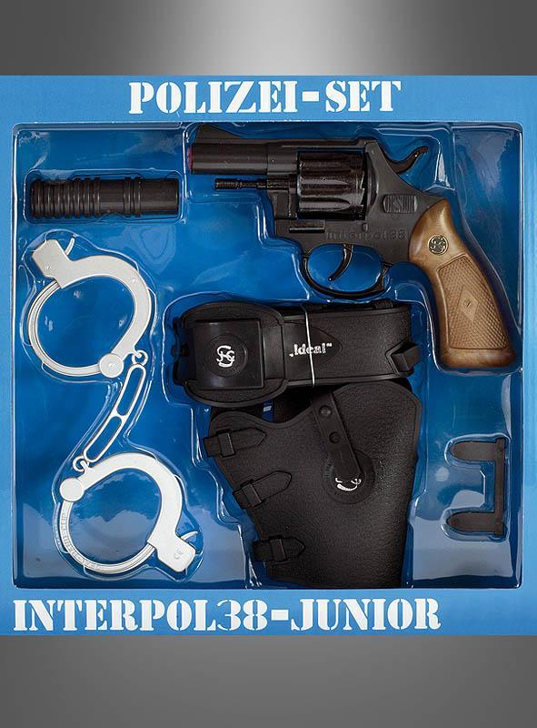 polizeiset mit pistole bei » kostümpalastde