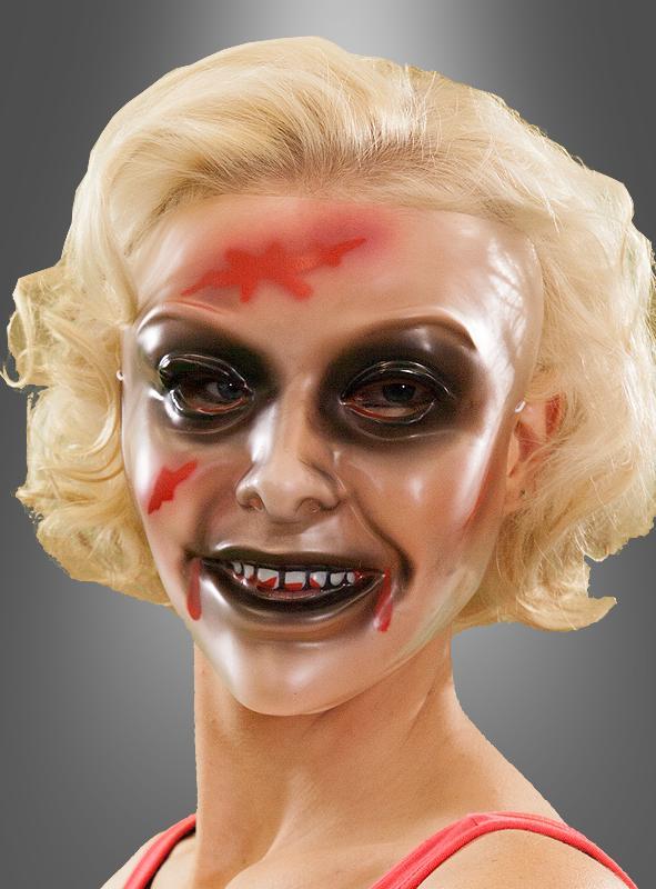 masken damen horror schminke gesichtsmaske halloween. Black Bedroom Furniture Sets. Home Design Ideas