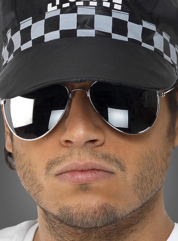sonnenbrille cop polizist kost. Black Bedroom Furniture Sets. Home Design Ideas