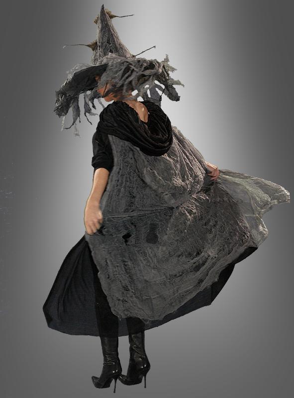 Fetziges Kapuzen Cape Umhang für Hexen und Geister Kostüme