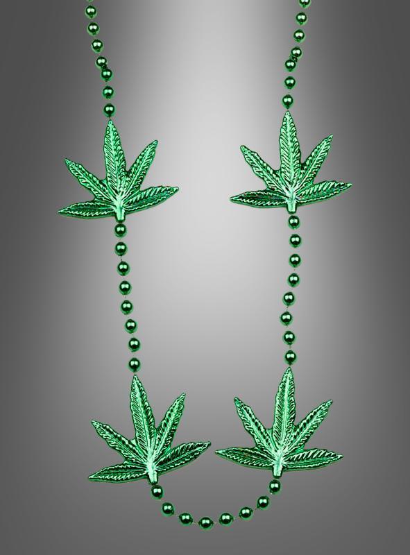 cannabis hippie kette kost m accessoire bei kost mpalast. Black Bedroom Furniture Sets. Home Design Ideas