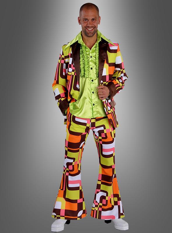 disco outfit in retro look f r herren von kost mpalas. Black Bedroom Furniture Sets. Home Design Ideas