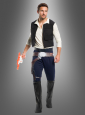 Han Solo Costume for Men Wars