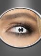 Tageslinsen Zombie weiße Kontaktlinsen