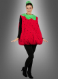 Erdbeere Kostüm süss und fruchtig für Erwachsene