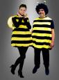 Plüsch Bienenkostüm für Erwachsene Unisex
