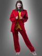 Roter Anzug für Joker Outfit