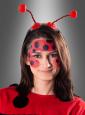 Marienkäfer Fühler mit roten Pompons