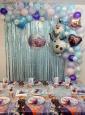 Gigantisches Frozen Partydeko Set 190 Teile