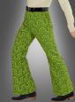 Retro Hose Herren grün