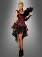 Burlesque Dress red