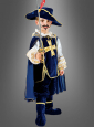 Deluxe blue Musketeer for Children