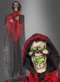 Lachende Skelett Hängefigur Halloween Deko 250 cm