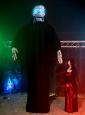 Gigantische animierte Reaper Standdeko 360cm