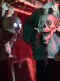 Sprechendes Skelett lebensgroße animierte Halloween Deko