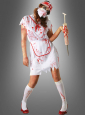 Zombie Krankenschwester Damenkostüm
