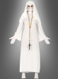 Evil white Nun Costume