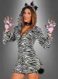 Wild Zebra Ladies Costume with Hood