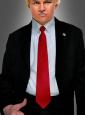 Rote Krawatte für Trump Kostüm