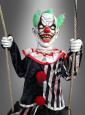 Animierter Killer Clown auf Schaukel 200 cm