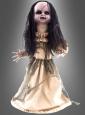 Animiertes Zombie Mädchen Puppe 75 cm