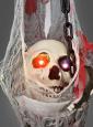 Blutige LED Hängeampel Halloweendeko 120 cm