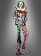 Animierter Clown Mädchen im Käfig Deko 240 cm