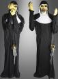 Halloween Animatronic 205 cm Nonne Figur mit Nebelmaschine