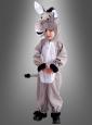 Eselkostüm für Kinder Plüsch