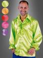 70s Satin Shirt for Men