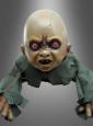 Krabbelnde Horror Baby Puppe animiert 75 cm