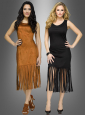 Indianerkleid und Hippie Outfit Fransenkleid