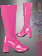 Patent Boots pink
