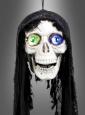 Sprechender Totenkopf Halloweendeko