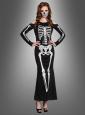 Skelettkleid für Damen Halloween