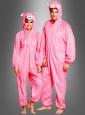 Pink Pig Costume Adult