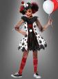 Clown Kleid Mädchen Kostüm Pippa