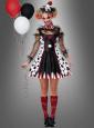 Clown Kleid Pippa für Damen